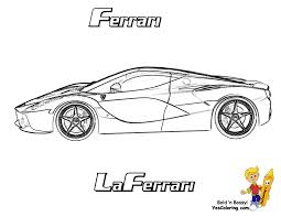 ferrari laferrari sketch heart pounding ferrari coloring ferrari cars free boys race