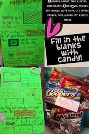 creative valentines day ideas for him a creative valentines day card words in uppercase are the candy i