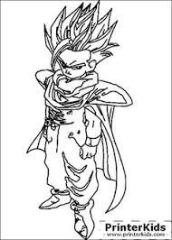 coloriage dessins dragon ball 48 lucas goku