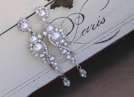 and pearl chandelier earrings pearl bridal earrings and pearl dangle earrings