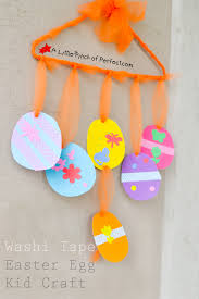 Decorating Easter Eggs Toddlers by Washi Tape Easter Egg Kid Craft Easter Pinterest Crafts