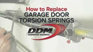 garage door company names how to replace garage door torsion springs youtube