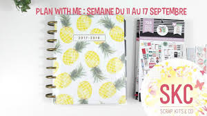 plan with me semaine du 11 au 17 septembre classic happy