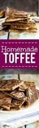 easy homemade chocolate toffee recipe the gracious wife