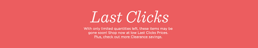 last clicks clearance qvc
