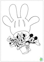 mickey mouse clubhouse coloring page for your own home cool