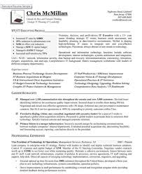 It Executive Resume Examples by Vice President Of Technology Operations U2014 Authentic Executive