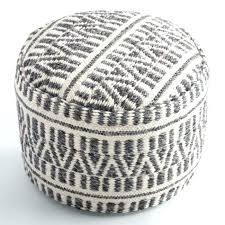 Knitted Ottoman Knitted Pouf Ottoman Pattern Knitted Pouf Ottoman Modern Design