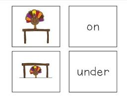 thanksgiving preposition concept matching by julianne ludwig