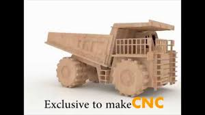 Wooden Toys Plans Free Trucks by Super Mining Dump Truck Wood Toy Plans For Cnc Routers And Lasers
