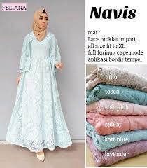 Baju Muslim Brokat daftar harga baju muslim brokat mei 2018 paling kekinian crootli me