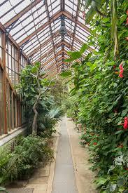 Botanic Gardens Uk Greenhouse In The Botanical Garden In Cambridge Uk Stock Image