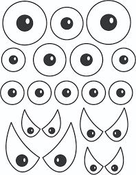 best photos of printable eye patterns for crafts printable eyes