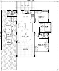 3 BHK Single Floor Home At 1000 Sq Ft Interior Home Plan