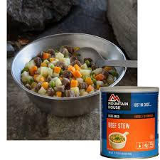 Mountain House Food by Mountain House Freeze Dried Beef Stew 10 Can 30144