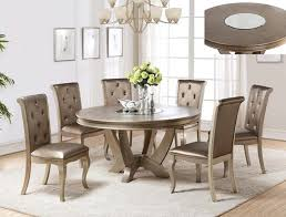 gianna round dining set champagne finish u2022 usa furniture online