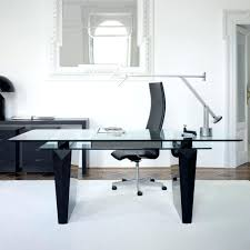 modern office table a modern office desk for your home office la furniture blog with