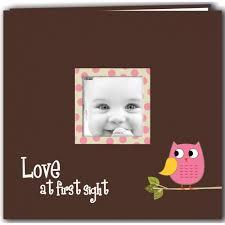 pioneer album pioneer baby owl printed design postbound scrapbook album this