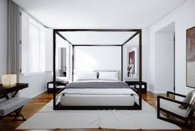 Modern Canopy Bed Frame Modern Canopy Bed King Size The Touch Modern