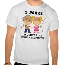 5th wedding anniversary gifts for him 5th wedding anniversary gift for him tshirts marriage