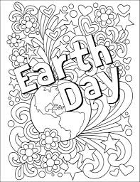 the hour u0027s earth day coloring contest the hour