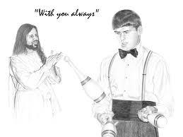 Jesus Drawing Meme - jesus with you always