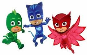1 2 sheet cake frosting pj masks party edible birthday topper ebay
