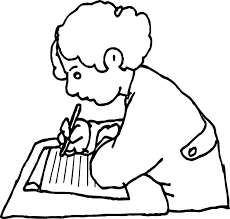 students activity coloring page wecoloringpage
