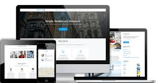 bootstrap themes free parallax parallax one free one page wordpress business theme