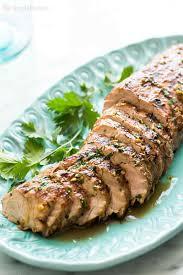grilled ginger sesame pork tenderloin recipe simplyrecipes com