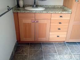 ikea kitchen cabinets in bathroom ikea kitchen made into custom bathroom vanity ikea hackers