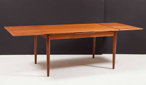 Dining Table Leaves Modern Dining Table With Pull Out Leaves Seats Ten At 1stdibs