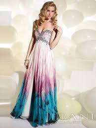 multi color wedding dress magnificent empire style sweetheart multi color printed rhinestone