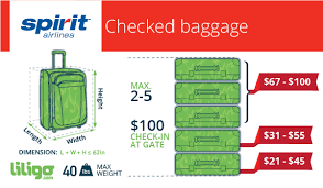 United Airlines Carry On Fee The Low Down On Spirit Airlines U0027 Baggage Policies Liligo Com