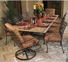 Patio Furniture Table Attractive Wrought Iron Outdoor Dining Set Outdoor Patio Furniture