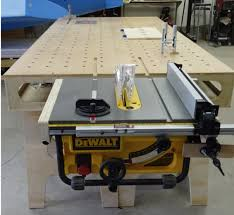 dewalt table saw extension 26 perfect woodworking bench with table saw egorlin com