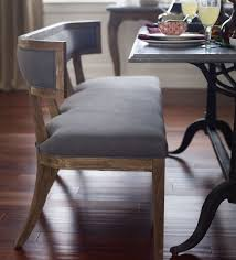 Dining Room Banquette Bench by Bench Carter Upholstered Curved Dining Bench Amazing Curved
