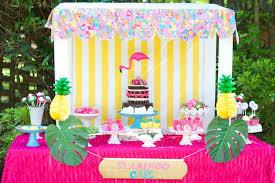 Tropical Themed Cake - kara u0027s party ideas tropical flamingo themed birthday party