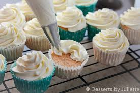 angel food cupcakes with whipped cream frosting desserts by juliette