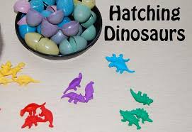 dinosaur theme for preschool hatching dino eggs early math