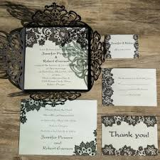fancy wedding invitations black wedding invitations online at wedding invites