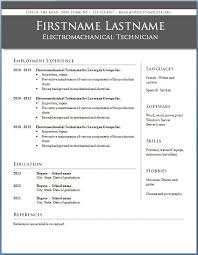 Traditional Resume Templates Resume Templates Word Free Resume Template And Professional Resume