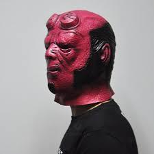 horror movie halloween masks aliexpress com buy superhero hellboy masks horror movie cosplay