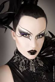 good design stylish and interesting gothic eye makeup intended for