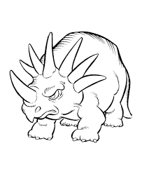 cartoon dinosaur coloring pages coloring