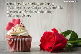 thank you messages for birthday wishes happy wishes