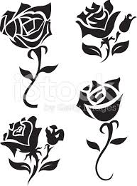 8 beautiful black rose tattoo designs and ideas