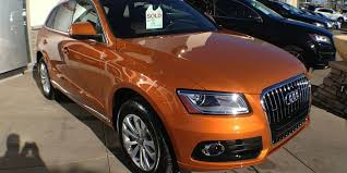 audi orange color audi exclusive q5 in samoa orange metallic fourtitude com