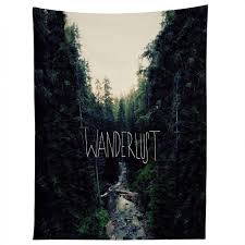 leah flores wanderlust 1 tapestry deny designs home accessories