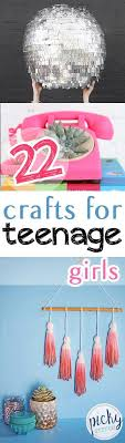 Best  Teen Girl Crafts Ideas On Pinterest Teen Summer - Craft ideas for bedroom